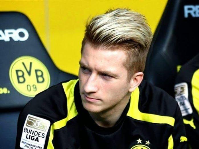 Kiểu tóc Marco Reus Undercut nhuộm highlight