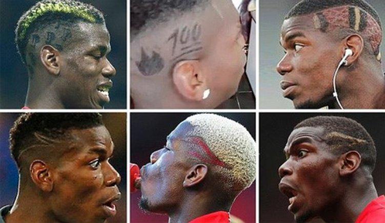 Những kiểu tóc phá cách của Paul Pogba