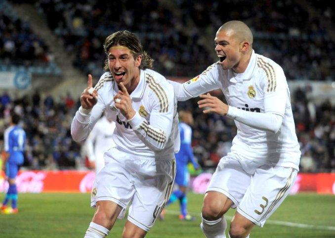 Sergio Ramos và Pepe