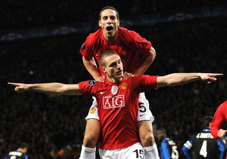 TOP 10 cặp trung vệ xuất sắc nhất Rio Ferdinand và Nemanja Vidic